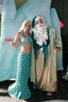 Mermaid and King Neptune