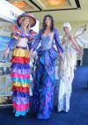 amazing stiltwalking ladies!